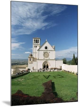 Basilica Di San Francesco, Where the Body of St. Francis was Placed in 1230, Assisi, Umbria-Sergio Pitamitz-Mounted Photographic Print