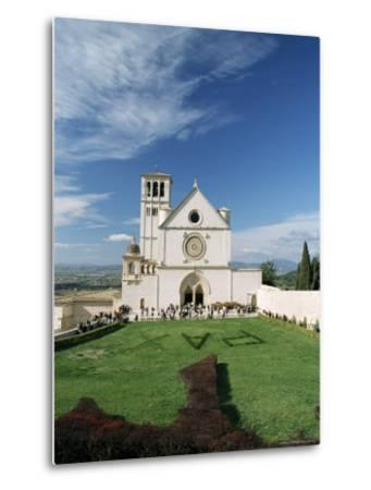 Basilica Di San Francesco, Where the Body of St. Francis was Placed in 1230, Assisi, Umbria-Sergio Pitamitz-Metal Print