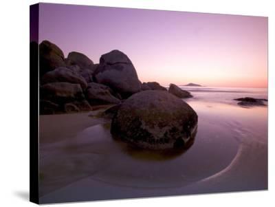 Sunset at Whiskey Beach, Wilson's Promontory, Victoria, Australia-Thorsten Milse-Stretched Canvas Print