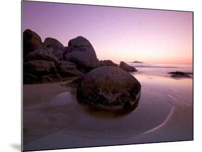 Sunset at Whiskey Beach, Wilson's Promontory, Victoria, Australia-Thorsten Milse-Mounted Photographic Print
