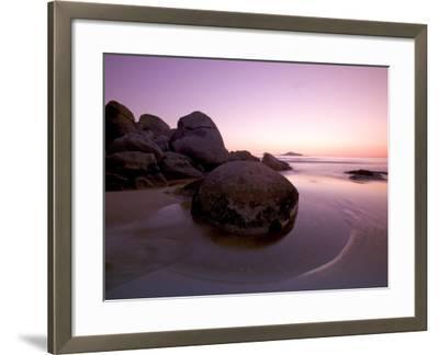 Sunset at Whiskey Beach, Wilson's Promontory, Victoria, Australia-Thorsten Milse-Framed Photographic Print