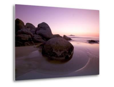 Sunset at Whiskey Beach, Wilson's Promontory, Victoria, Australia-Thorsten Milse-Metal Print