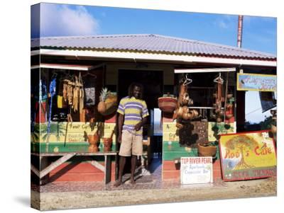 Colourful Souvenir Shop, Speyside, Tobago, West Indies, Caribbean, Central America-Yadid Levy-Stretched Canvas Print