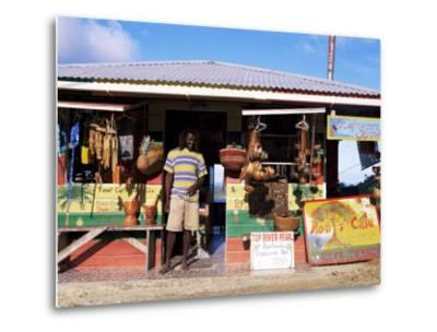 Colourful Souvenir Shop, Speyside, Tobago, West Indies, Caribbean, Central America-Yadid Levy-Metal Print