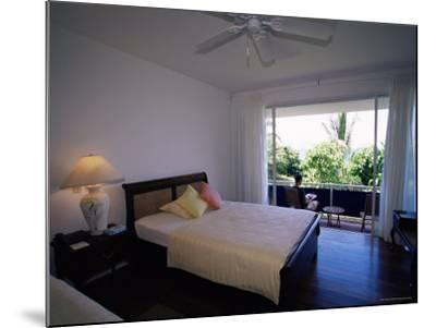 Room at the Blue Heaven Hotel, the Island's Top Hotel, Tobago-Yadid Levy-Mounted Photographic Print