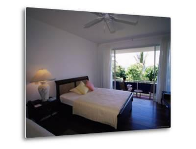 Room at the Blue Heaven Hotel, the Island's Top Hotel, Tobago-Yadid Levy-Metal Print