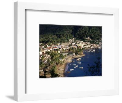 View Over Soufriere, St. Lucia, Windward Islands, West Indies, Caribbean, Central America-Yadid Levy-Framed Photographic Print