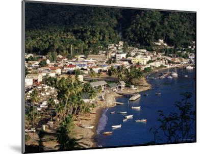 View Over Soufriere, St. Lucia, Windward Islands, West Indies, Caribbean, Central America-Yadid Levy-Mounted Photographic Print