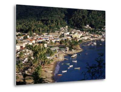 View Over Soufriere, St. Lucia, Windward Islands, West Indies, Caribbean, Central America-Yadid Levy-Metal Print