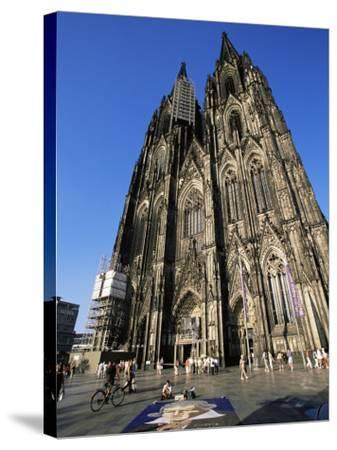 Cologne Cathedral, Cologne, Unesco World Heritage Site, North Rhine Westphalia, Germany-Yadid Levy-Stretched Canvas Print