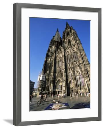 Cologne Cathedral, Cologne, Unesco World Heritage Site, North Rhine Westphalia, Germany-Yadid Levy-Framed Photographic Print
