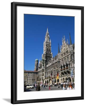 City Hall, Marienplatz, Munich, Bavaria, Germany-Yadid Levy-Framed Photographic Print