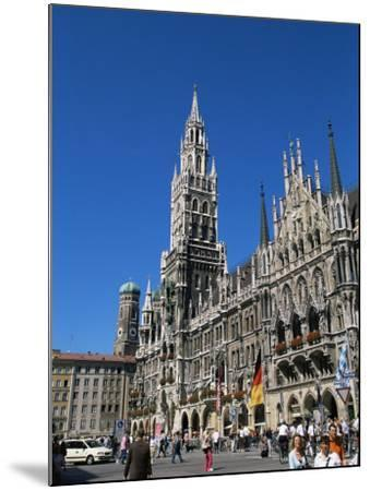 City Hall, Marienplatz, Munich, Bavaria, Germany-Yadid Levy-Mounted Photographic Print