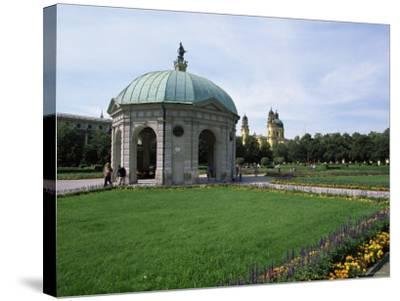 Diana Temple, Hofgarten, Munich, Bavaria, Germany-Yadid Levy-Stretched Canvas Print