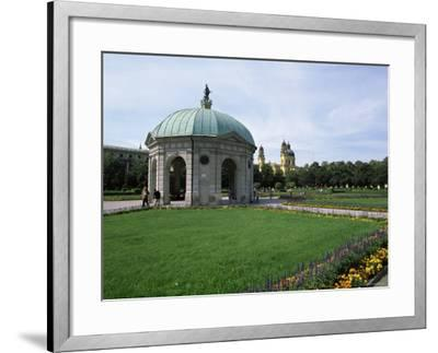 Diana Temple, Hofgarten, Munich, Bavaria, Germany-Yadid Levy-Framed Photographic Print