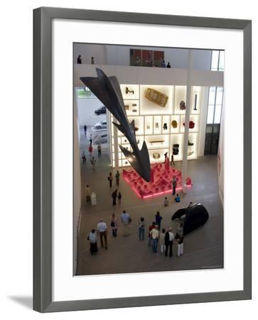 Pinakothek Der Moderne, Germany's Biggest Museum of Modern Art, Munich, Bavaria, Germany-Yadid Levy-Framed Photographic Print