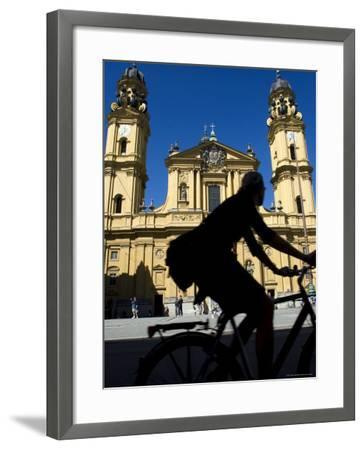 Theatiner Church, Munich, Bavaria, Germany-Yadid Levy-Framed Photographic Print