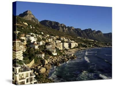 Exclusive Houses at the Upmarket Clifton Beach, Cape Town, South Africa, Africa-Yadid Levy-Stretched Canvas Print