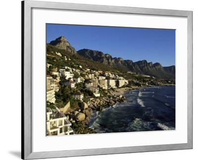 Exclusive Houses at the Upmarket Clifton Beach, Cape Town, South Africa, Africa-Yadid Levy-Framed Photographic Print