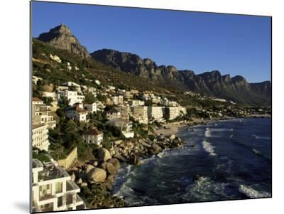 Exclusive Houses at the Upmarket Clifton Beach, Cape Town, South Africa, Africa-Yadid Levy-Mounted Photographic Print