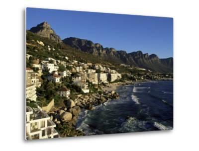 Exclusive Houses at the Upmarket Clifton Beach, Cape Town, South Africa, Africa-Yadid Levy-Metal Print