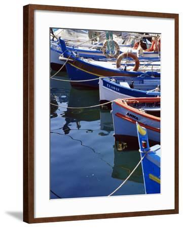 Ajaccio Harbour, Corsica, France, Mediterranean-Yadid Levy-Framed Photographic Print