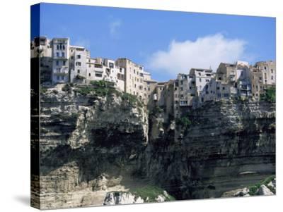 Bonifacio, Corsica, France-Yadid Levy-Stretched Canvas Print
