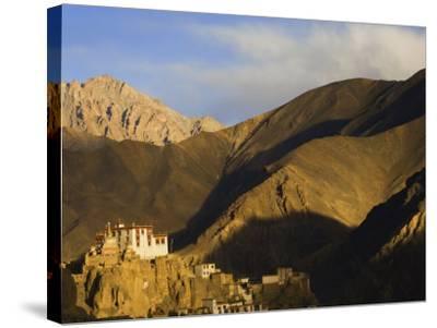 Lamayuru Gompa (Monastery), Lamayuru, Ladakh, Indian Himalayas, India-Jochen Schlenker-Stretched Canvas Print