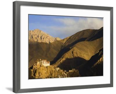 Lamayuru Gompa (Monastery), Lamayuru, Ladakh, Indian Himalayas, India-Jochen Schlenker-Framed Photographic Print