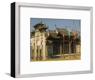Tangyue Memorial Arches, Anhui Province, China-Jochen Schlenker-Framed Photographic Print