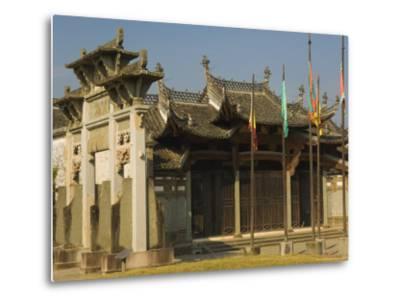 Tangyue Memorial Arches, Anhui Province, China-Jochen Schlenker-Metal Print