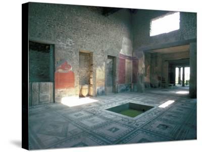 Politician's House, Pompeii, Campania, Italy-Christina Gascoigne-Stretched Canvas Print
