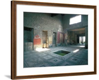 Politician's House, Pompeii, Campania, Italy-Christina Gascoigne-Framed Photographic Print