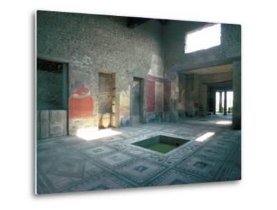 Politician's House, Pompeii, Campania, Italy-Christina Gascoigne-Metal Print