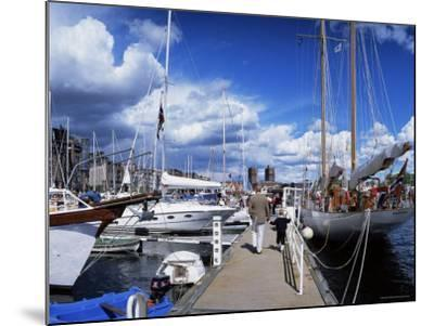 Constitution Day on May 17th, at Aker Brygge, Oslo, Norway, Scandinavia-Kim Hart-Mounted Photographic Print