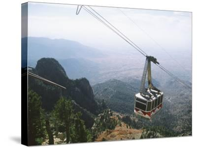 Sandia Peak Tramway, Albuquerque, New Mexico, USA-Michael Snell-Stretched Canvas Print