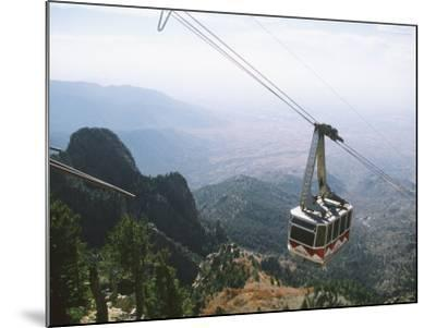 Sandia Peak Tramway, Albuquerque, New Mexico, USA-Michael Snell-Mounted Photographic Print