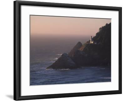 Heceta Head Lighthouse, Oregon, USA-Michael Snell-Framed Photographic Print