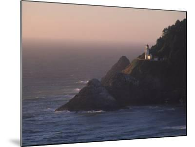 Heceta Head Lighthouse, Oregon, USA-Michael Snell-Mounted Photographic Print