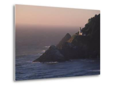 Heceta Head Lighthouse, Oregon, USA-Michael Snell-Metal Print