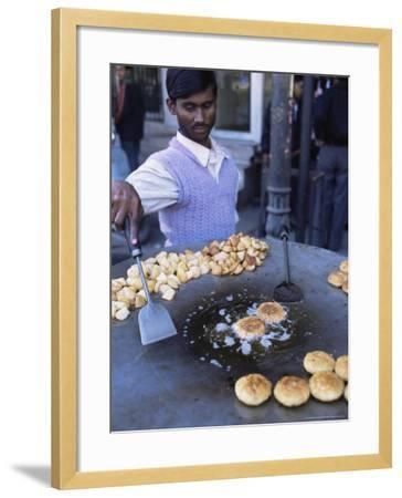 Street Food, Delhi, India-John Henry Claude Wilson-Framed Photographic Print