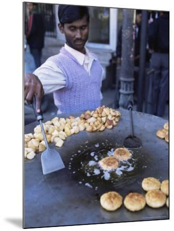 Street Food, Delhi, India-John Henry Claude Wilson-Mounted Photographic Print