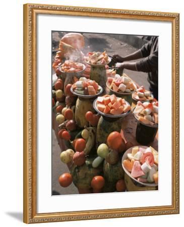 Fruit Stall, Delhi, India-John Henry Claude Wilson-Framed Photographic Print