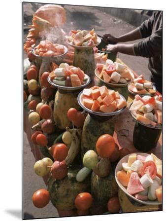 Fruit Stall, Delhi, India-John Henry Claude Wilson-Mounted Photographic Print