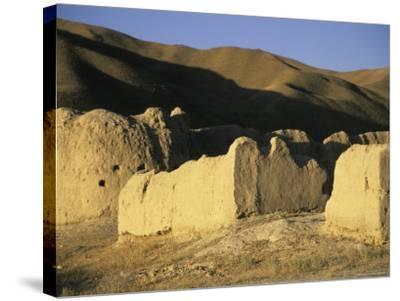 Caravanserai, Daulitiar, Afghanistan-Jane Sweeney-Stretched Canvas Print