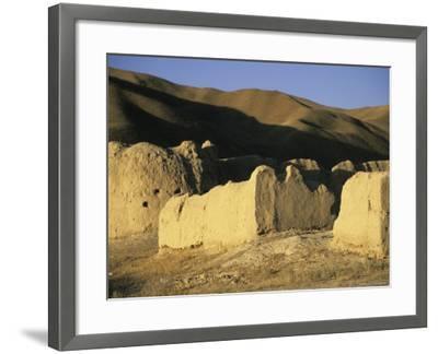 Caravanserai, Daulitiar, Afghanistan-Jane Sweeney-Framed Photographic Print
