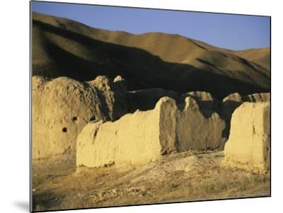 Caravanserai, Daulitiar, Afghanistan-Jane Sweeney-Mounted Photographic Print