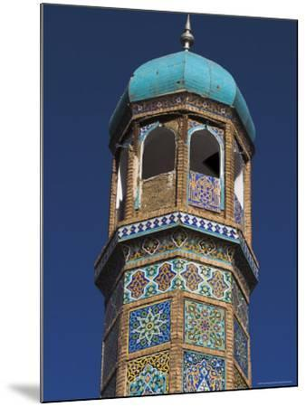 Minaret of the Friday Mosque or Masjet-Ejam, Herat, Afghanistan-Jane Sweeney-Mounted Photographic Print
