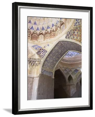 Mosque Interior at the Ruins of Takht-I-Pul, Balkh, Afghanistan-Jane Sweeney-Framed Photographic Print