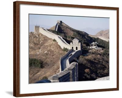 The Great Wall of China, Unesco World Heritage Site, Near Beijing, China-Adina Tovy-Framed Photographic Print